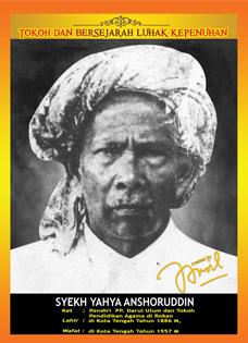 Syeks Yahya Ansoruddin