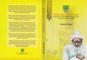 Banner Buku Syeikh Abdul Wahab Rokan