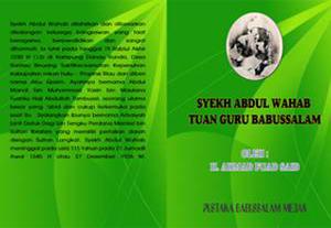 Banner Buku Tuan Guru Syeikh Abdul Wahab Rokan
