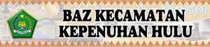 Banner BAZ Kecamatan Kepenuhan Hulu