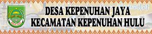 Banner Desa Kepenuhan Jaya