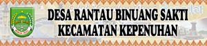 Banner Desa Rantau Binuang Sakti