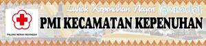 Banner PMI Kecamatan Kepenuhan